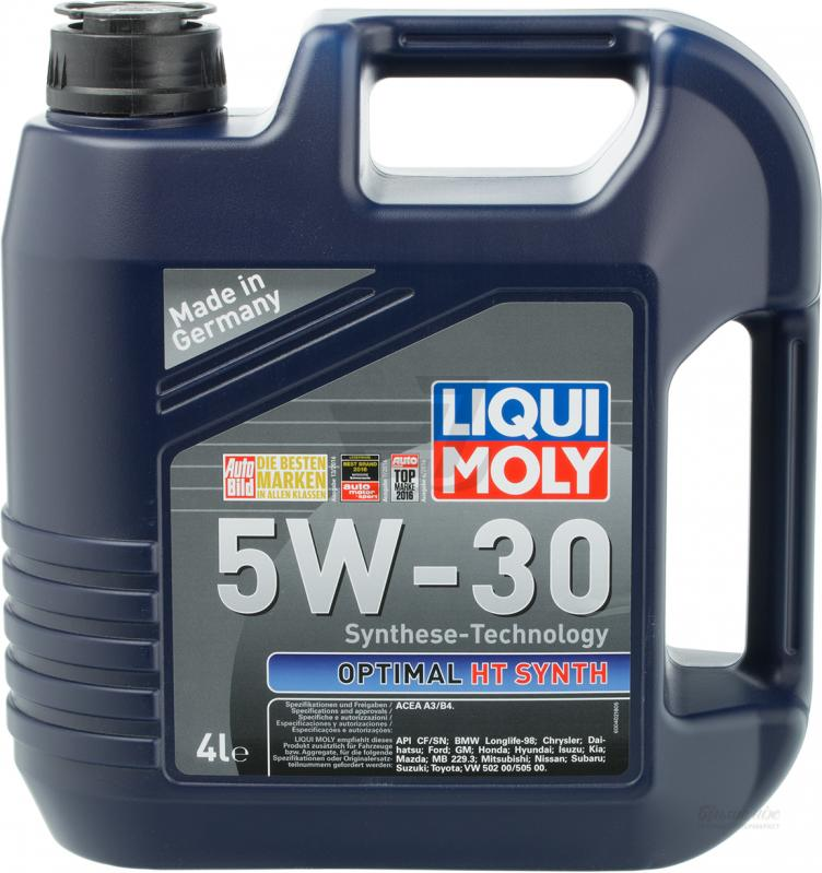 LiquiMoly  Optimal HT Synth  5W30 SN/CF HC-синтетика  (4л) 39001