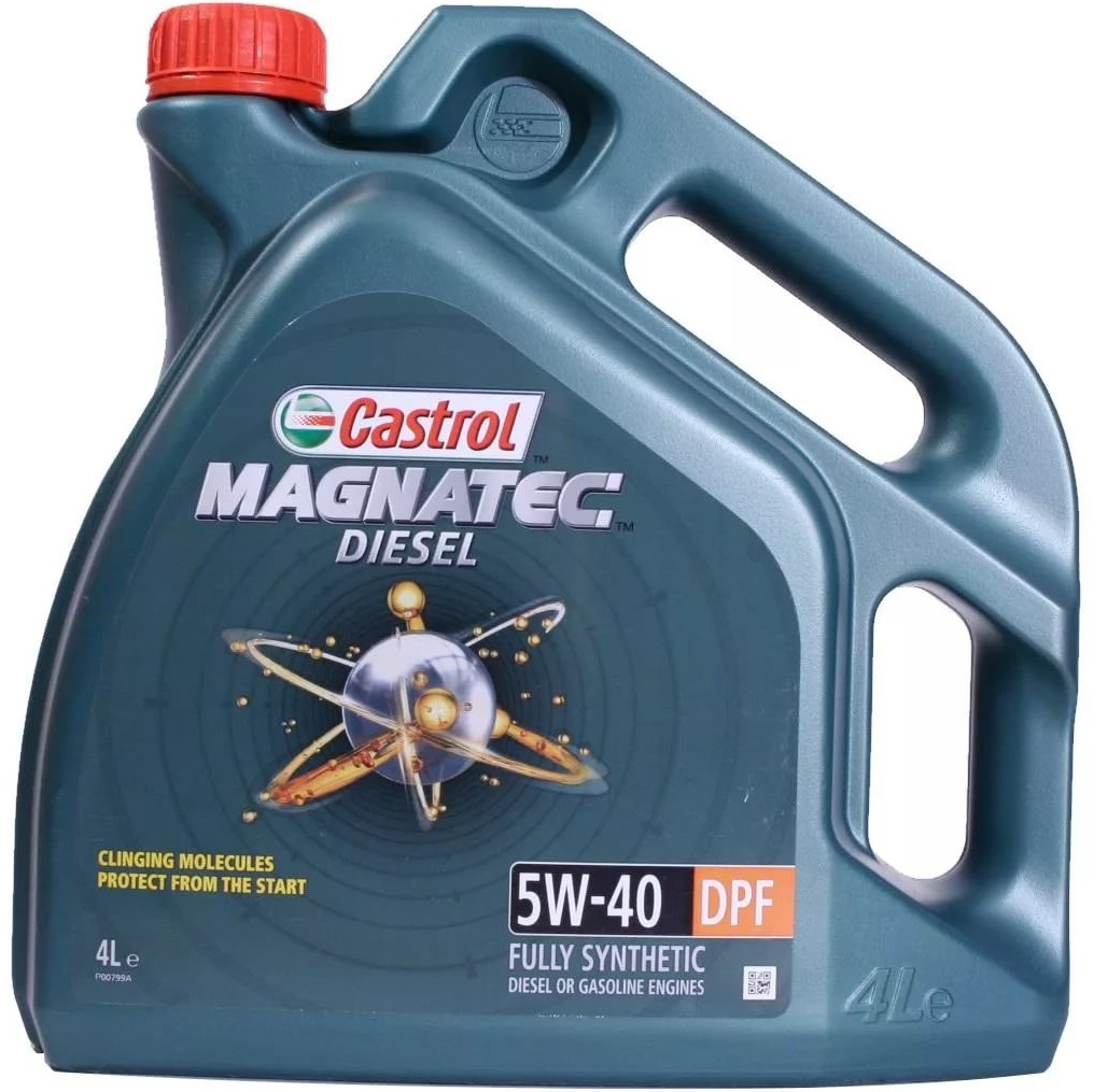 Castrol  MagnatecDiesel  5W40 DPF  масло моторное (4л)