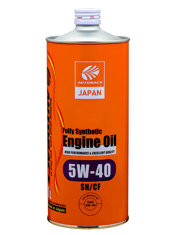 AUTOBACS ENGINE OIL FS 5W40 SN/CF Моторное масло 1л A01508403