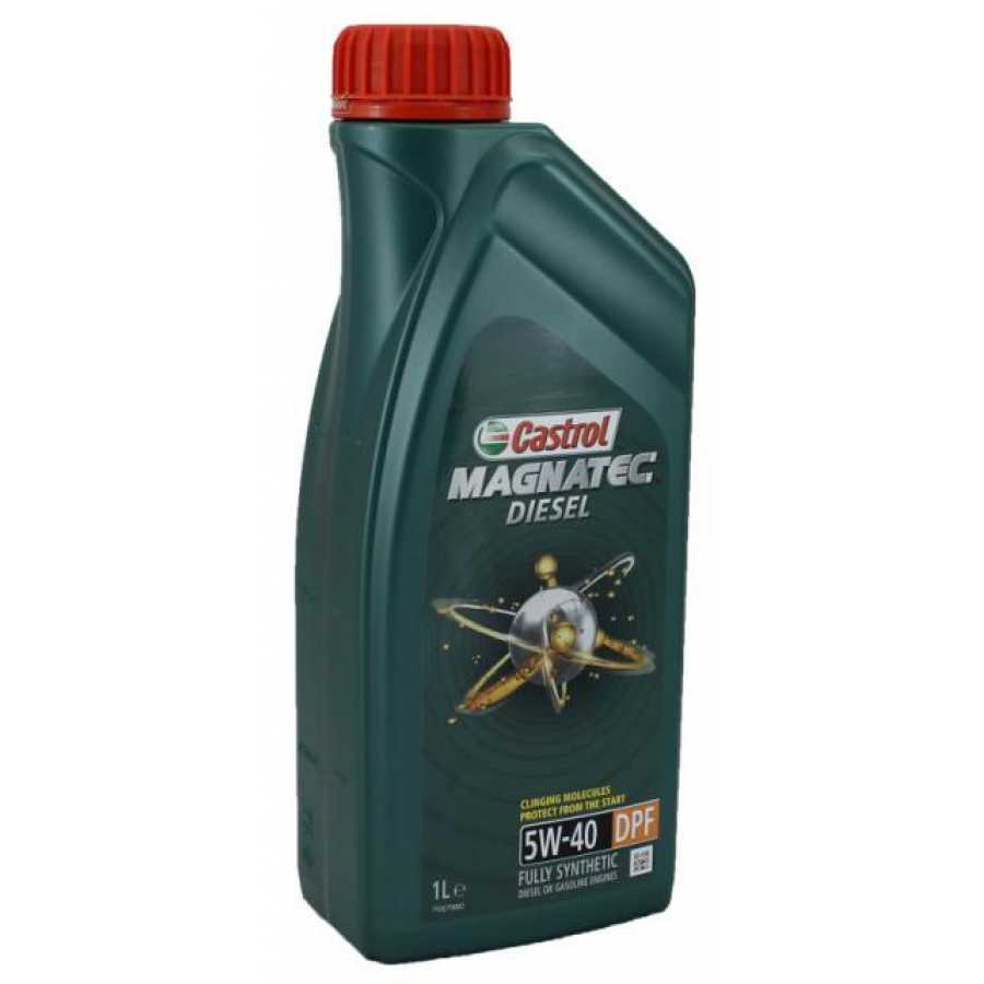 Castrol  MagnatecDiesel  5W40 DPF  масло моторное (1л)