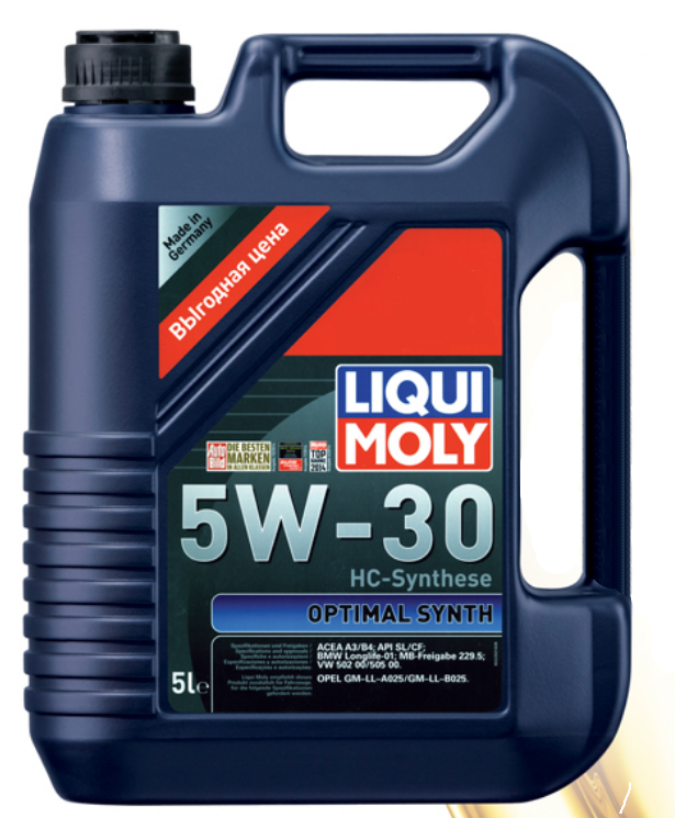 LiquiMoly  Optimal HT Synth  5W30 SN/CF HC-синтетика  (5л) 39010