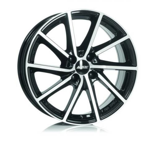 17x7  5x114,3 ET40 d.66,1  Alutec  Singa Diamond Black Front Polished