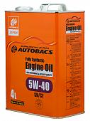 AUTOBACS ENGINE OIL FS 5W40 SN/CF Моторное масло 4л + AB DIAX King Size Aquablue Marine Squash 5931 115 мл. A01508404-540