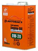 AUTOBACS ENGINE OIL FS 0W20 SN/GF-5 Моторное масло 4л A01508395