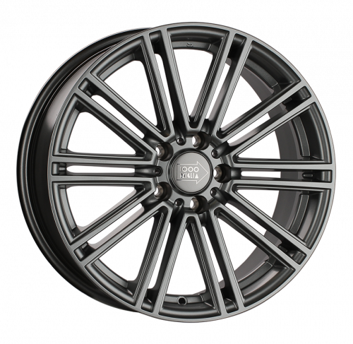 18x8  5x112 ET45 d.66,6  1000 MIGLIA  MM1005 Matt Anthr