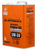 AUTOBACS ENGINE OIL FS 5W30 SN/GF-5 Моторное масло 4л A01508401